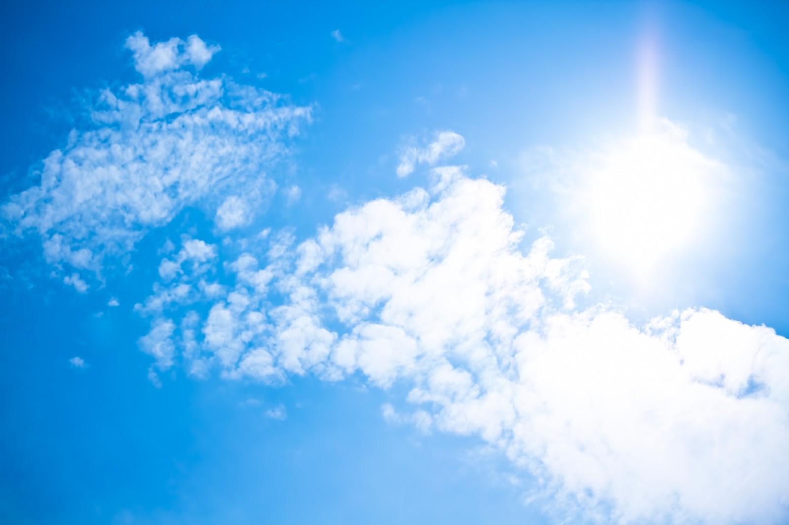 青空-暑さ対策