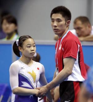 宮川紗江 速見コーチ