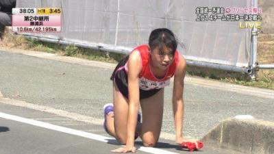 【プリンセス駅伝】飯田怜の怪我の真相は?四つん這いの理由が壮絶!