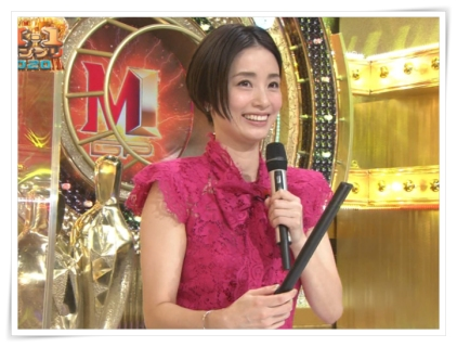 2020上戸彩M-1衣装ドレス